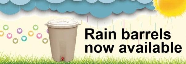 Kingston, Ontario, rain barrels, green living