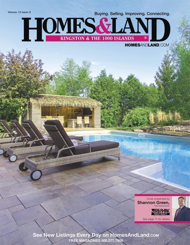 homes & land Kingston 1000 islands